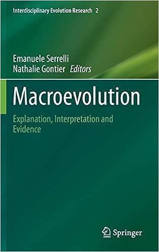Amazon com: Macroevolution: Explanation, Interpretation and