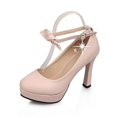 Zormey Women'S Shoes Stiletto Heel Heels / Platform / Round Toe Heels Party &Amp; Evening / Dress Blue / Pink / Beige US9 / EU40 / UK7 / CN41
