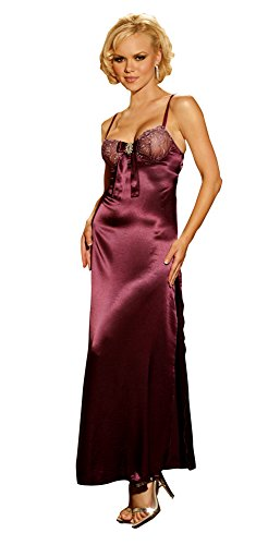 Gown Long with Rhinestone Sm - Sexy Lingerie & Sexy Negligee by SALES4YA
