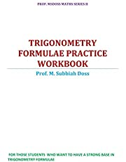 Trigonometry Formulae Practice Workbook