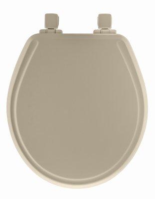 Stupendous Bemis Mfg Co Bemis Mfg 48Slow 006 Mayfair Round Molded Wood Toilet Seat Whisper Close Easy Clean Change Hinge Sta Quantity 1 Dailytribune Chair Design For Home Dailytribuneorg