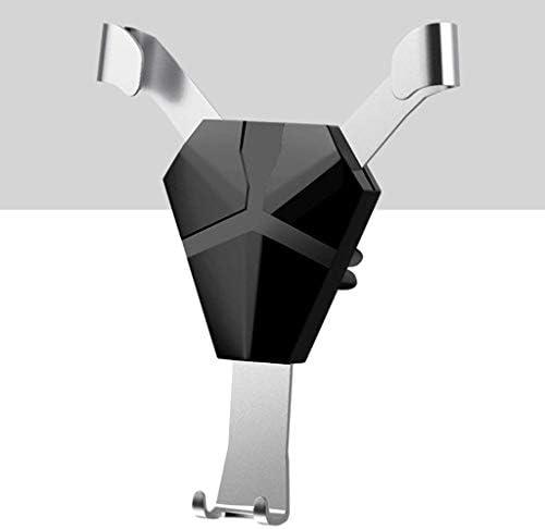 合金の人間の特徴をもつ車の電話ブラケット、安定した出口の携帯電話ブラケット車のブラケット360°スマートフォンのための調節可能なGPSブラケット金は電話を傷つけません (色 : A)