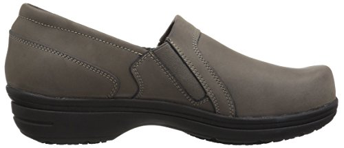Easy Works Women's Bentley Health Care Professional Shoe, Grey Nubuck, 7.5 W US by Easy Works (Image #7)