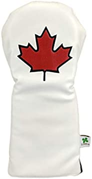 Foretra - Limited Edition Maple Leaf - Canada Driver Head Cover - Tour Quality Golf Club Cover - Style and Cus