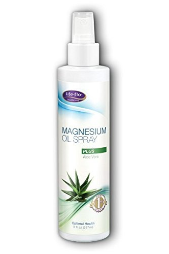 Life-Flo Magnesium Oil With Aloe Vera, 8 Fluid Ounce ()