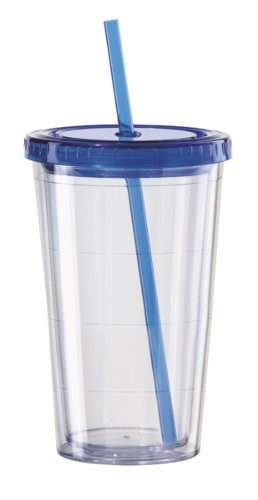 16 oz tumbler with lid and straw - 5
