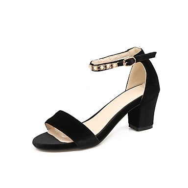 5 amp;Amp; Pu Pump 8 Microfiber Heels Basic Evening 10 Synthetic Women'S Party 5 Wedding Basic Career CN42 EU41 Summer Office Pump US9 Pu Bucklechunky amp;Amp; Dress Spring UK7 FYP1wqEE5