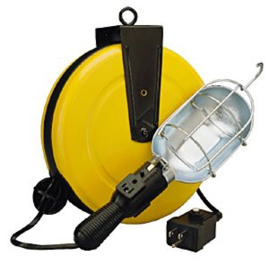 Alert 500050GCB Pro Reel Retractable Cord Reel Work Light