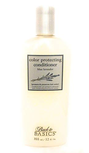 Back to Basics ~ Blue Lavender Color Protecting Conditioner (Original Formula) ~ 12oz (1/EA) by Back to Basics
