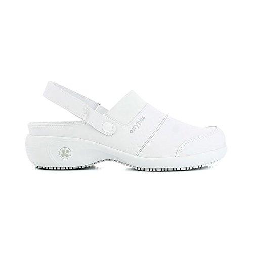 Eu white Uk fux 37 Sandy lbl Safety White Oxypas Women's 4 Bianco Shoes qzPaZSw