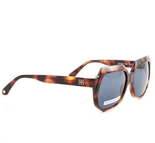 BALENCIAGA mujer gafas de sol marrón carey Retro Vintage ...