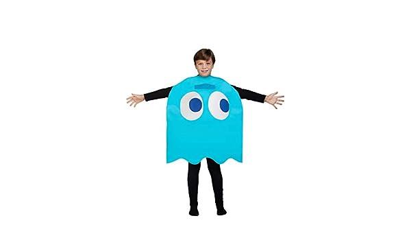 Funidelia Disfraz de Fantasma Pac-Man Inky Infantil: Amazon.es ...