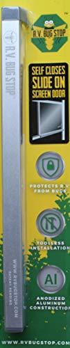 RV Bug Stop. Self Closes Slider On R.V. Screen Door. Fits 10-3/4