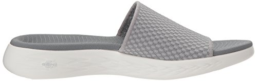 Skechers Go Grigio con On Plateau Nitto 600 The Sandali Grey Donna 77wxFqR4C
