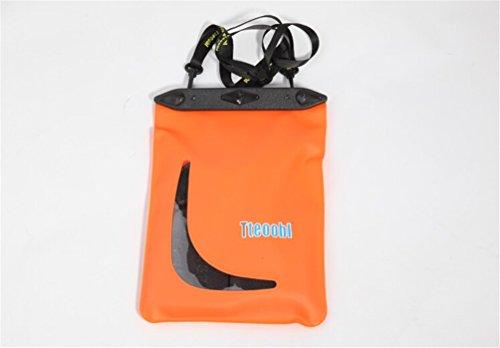 Accesorios de natación a prueba de agua bolsa de almacenamiento naranja