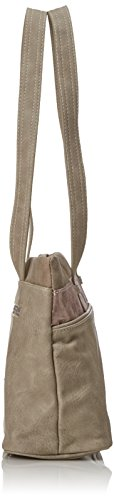 Tamaris Damen Khema Shoulder Bag Schultertasche, 10,5x22x32,5 cm (Pepper Comb)
