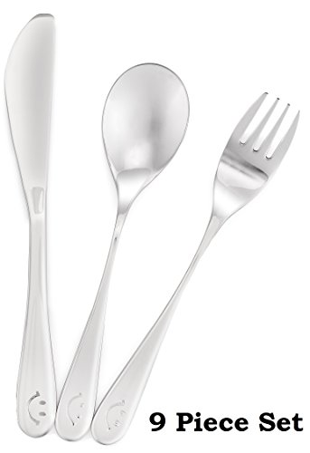 toddler flatware stainless steel - 9