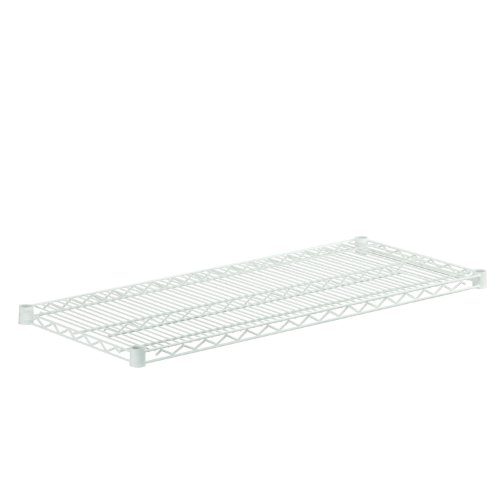 Honey-Can-Do SHF800W1842 Steel Wire Shelf for Urban Shelving Units, 800-Pound Capacity, White, 18Lx42W
