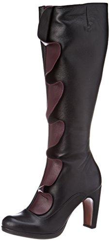 Chie Mihara Damen Gayura Langschaft Stiefel Noir (maitai Raisin Noir-maitai)