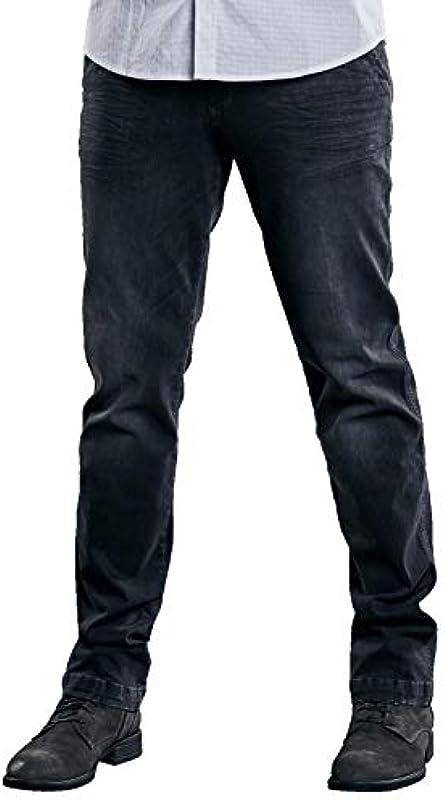 emilio adani męskie dżinsy basic w nowoczesnym stylu chino, 30152, szare: emilio adani: Odzież