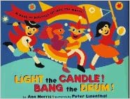 Light the candle bang the drum a book of holidays from around the flip to back flip to front fandeluxe Images