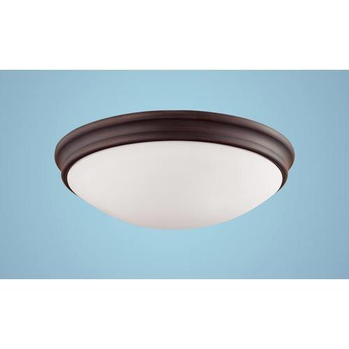 Millennium Lighting 5225-RBZ 3-Light Flush Mount in Chrome