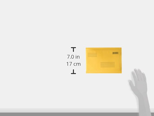BAZIC 자동 밀봉 버블 메일러, 6 x 9.25 인치, 4 팩/BAZIC Sel..