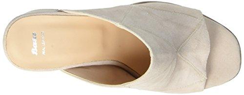 BATA 7638516, Sandalias de Punta Descubierta para Mujer Beige (Beige)