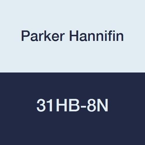 Parker Hannifin 31HB-8N Par-Barb Nylon Hose Barb Swivel Nut Fitting White 1//2 Female NPT Parker Hannifin Corporation 1//2 Female NPT