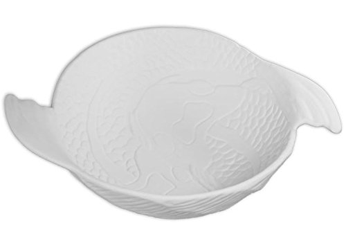 Detailed Koi Bowl - Paint Your Own Ceramic ()