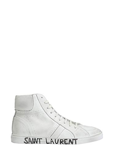 Sneakers Saint Laurent bianca alte Mens 5328740m5009030 pelle in ra5wrqxRE