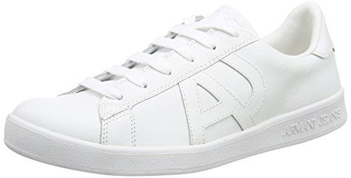 Armani 06565YO - Brogue Hombre Blanco - Weiß (BIANCO - WHITE 10)