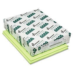AbilityOne - Neon Colored Copier Paper - Processed Chlorine Free, Neon Green 7530-01-398-2682: RM, 1 Item(s)