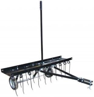 TECHNIROLL International Démousseur - scarificateur à Tirer, 100 cm