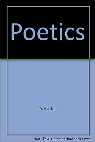 the poetics aristotle summary