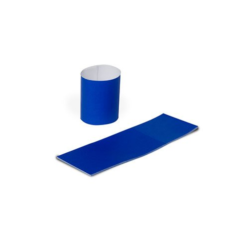 Royal Napkin Bands with Self-Sealing Glue and Bond Paper Construction, Blue, Case of 20,000 by Royal