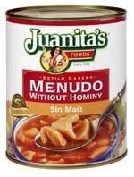 Juanitas Meudo No, Hominy, 25 oz