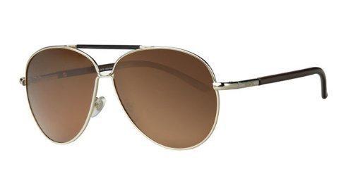 revex Hombre polarizadas Gafas de sol piloto gafas gafas de aviador Aviator de metal con bolsa
