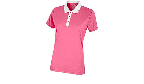 Island Green - Polo - para mujer Rosa rosa 40: Amazon.es: Ropa y ...