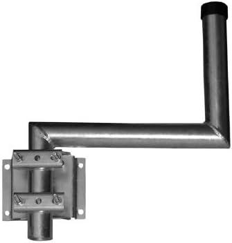 A.S SAT Wandhalter feuerverzinkter Stahl 40cm Wandabstand 48mm Ø Halterrohr