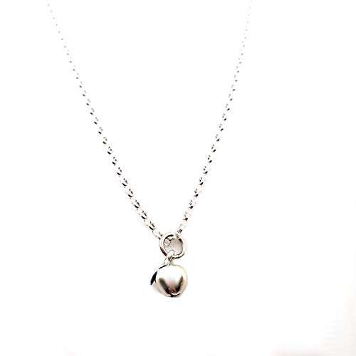 Tiny Apple Charm - Sterling Silver ()