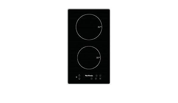 Placa de induccion compracta de dos fuegos para encastrar Mx onda PI2210