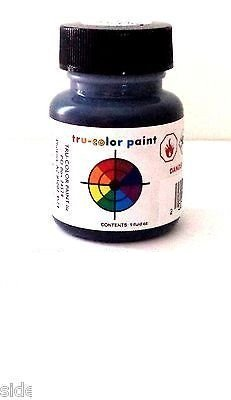 1 Oz Floquil Model Paint - Tru Color Paint Flat Weathered Black 1oz