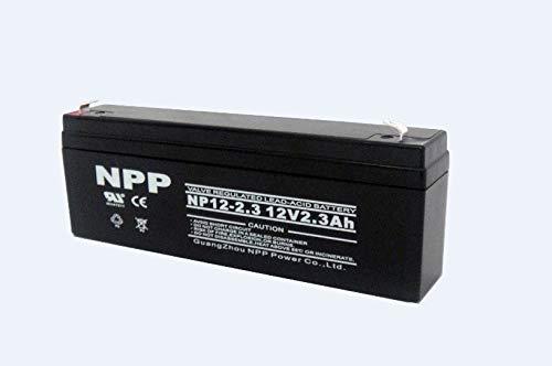 UB1222 NP2.3-12 SigmasTek SP12-2.3-12V 2.3AH F1 SLA Battery Replaces: PS-1220-F1 KITBB50016 D5739