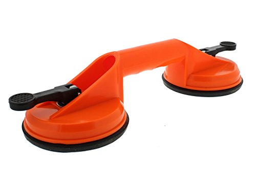 Fantastic Deal! ABN Heavy Duty Double Suction Cup for Glass, Windshields, and Dent Pulling