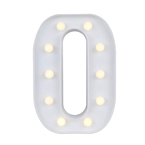 Marquee Letter Lights,26 Alphabet Light Up Marquee Letters Sign Battery Powered Christmas Night Light Wall Desktop Lamp for Festival Decorative Wedding Birthday Home Party Bar Decoration O