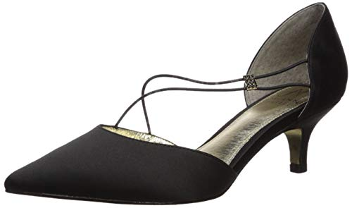 Adrianna Papell Women's LACY Pump, Black, 6.5 M US