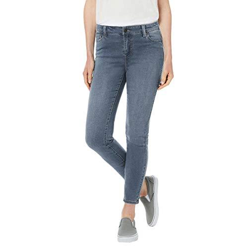 BUFFALO Ladies' Aubrey Stretch Ankle Grazer Jeans (10/30, Blue)