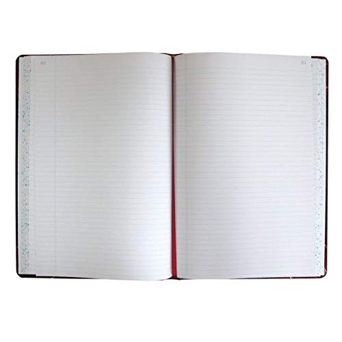 Boorum & Pease Record Book, 21 Series, Record Ruled, 8-1/8
