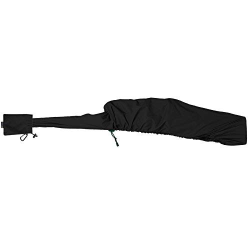GunSlicker - Waterproof, Ultralight, Packable Gun Case for Rifles and Shotguns- Black ()